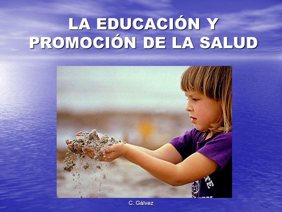LA EDUCACIÓN Y PROMOCIÓN DE LA SALUD
