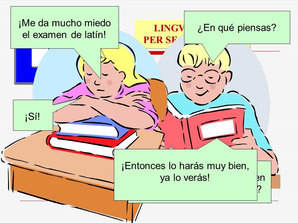 Probationem Linguae Latinae valde timeo…!!