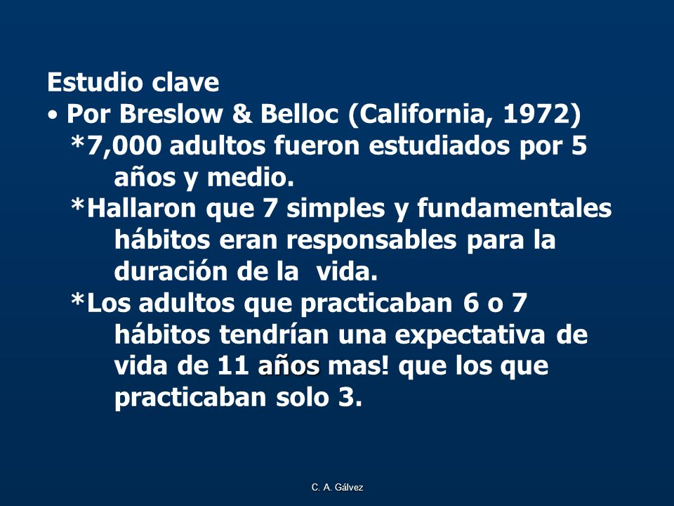 Por Breslow & Belloc (California, 1972)