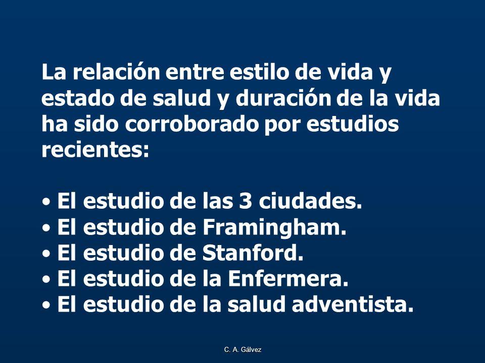 El estudio de las 3 ciudades. El estudio de Framingham.