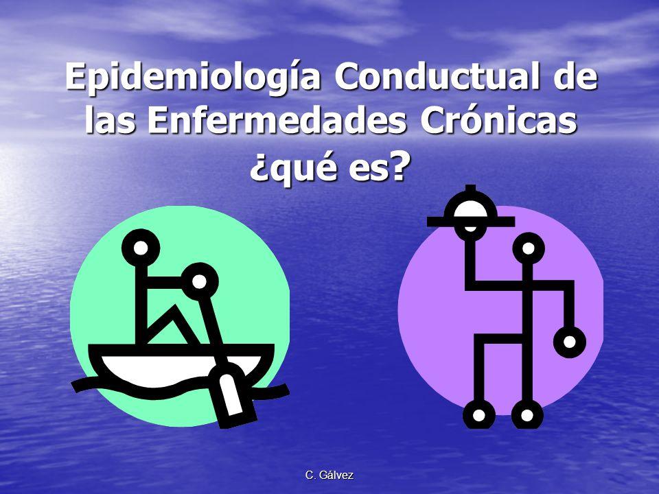 Epidemiología Conductual de las Enfermedades Crónicas ¿qué es
