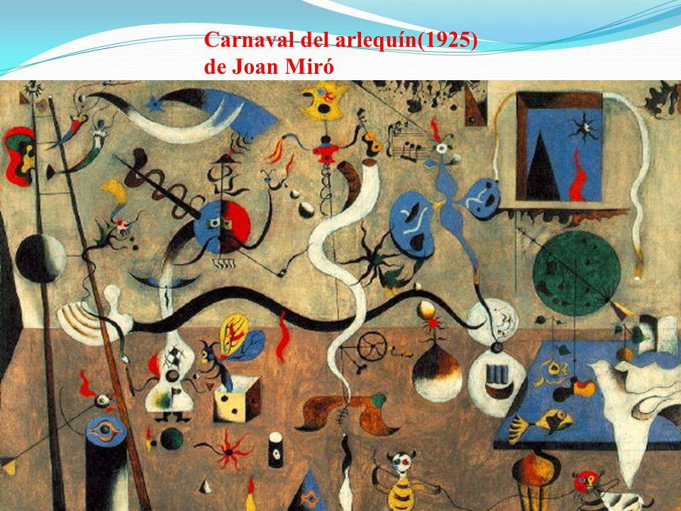 Carnaval del arlequín(1925) de Joan Miró