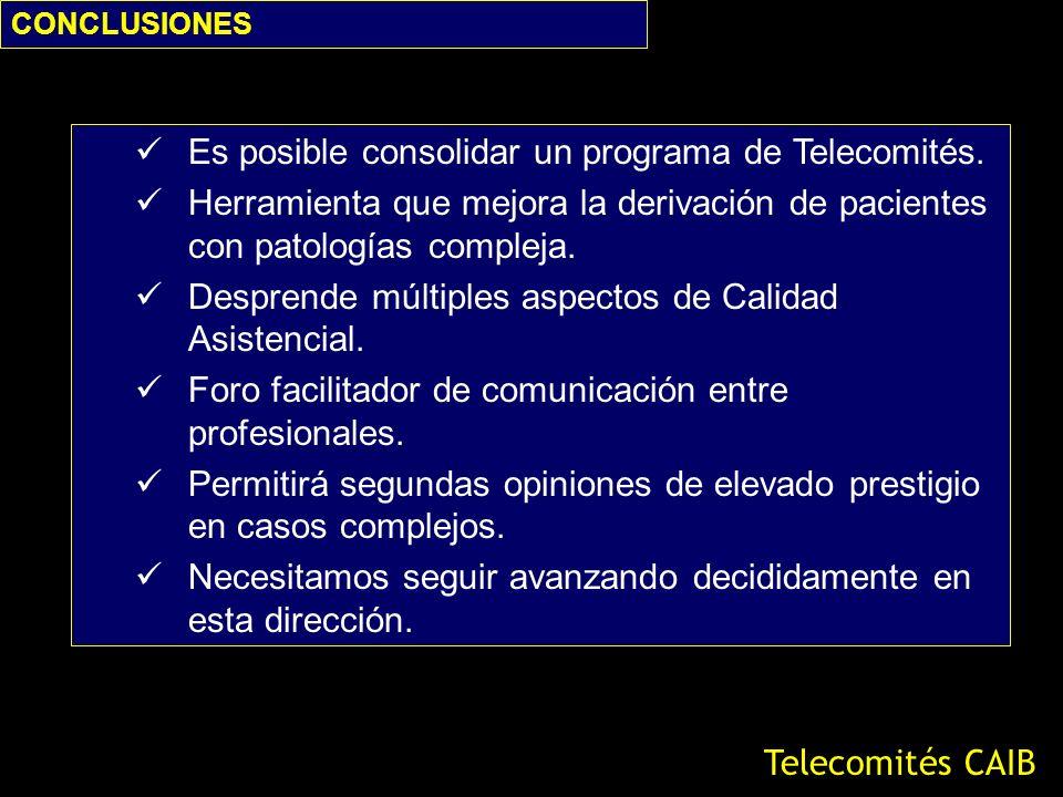 Es posible consolidar un programa de Telecomités.