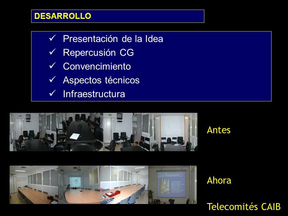 Presentación de la Idea Repercusión CG Convencimiento