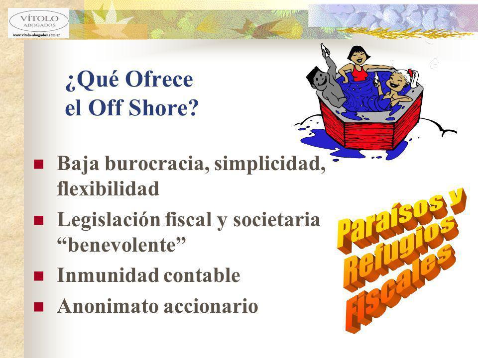 ¿Qué Ofrece el Off Shore