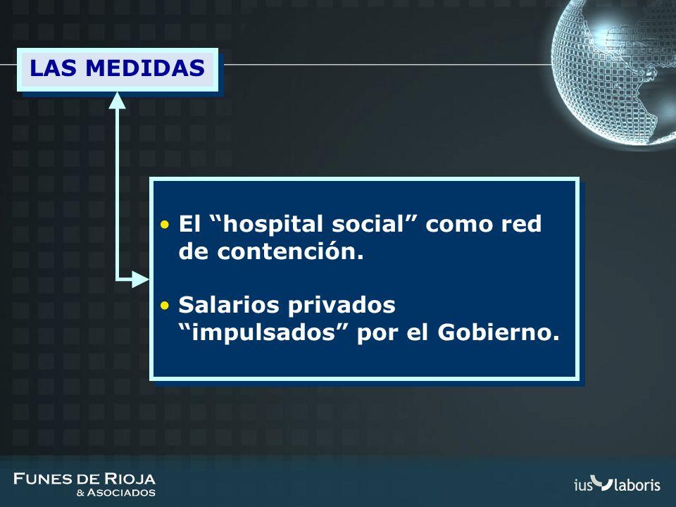 LAS MEDIDAS El hospital social como red de contención.