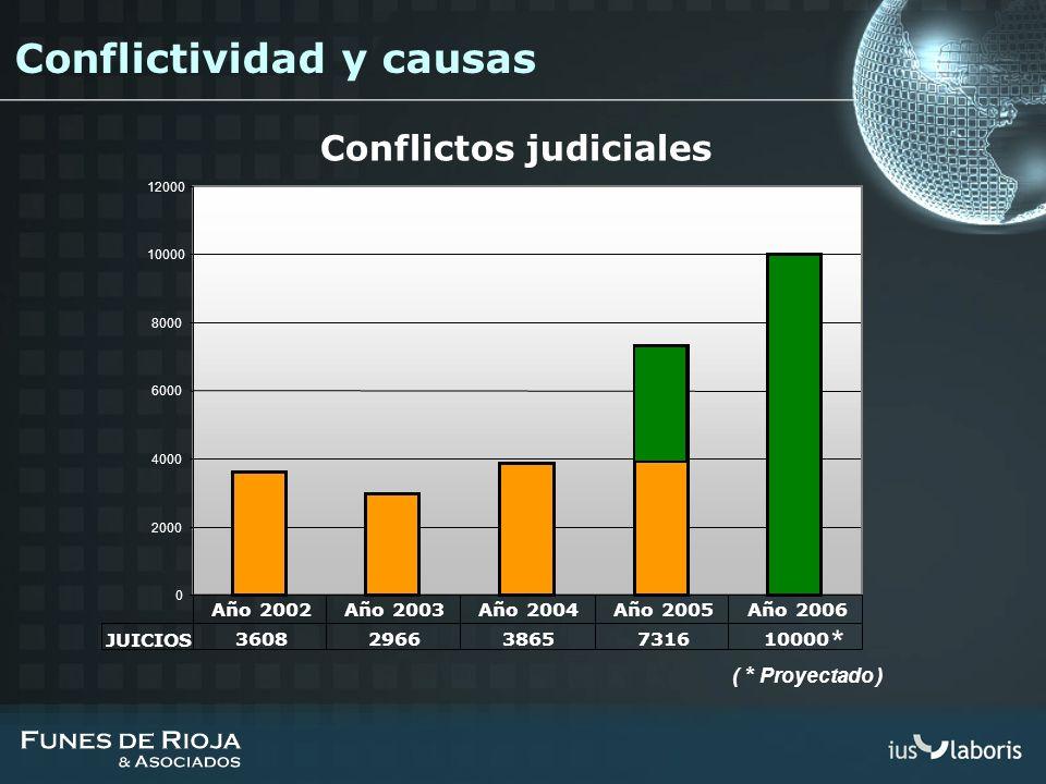 Conflictos judiciales