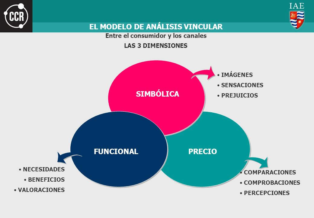 EL MODELO DE ANÁLISIS VINCULAR Entre el consumidor y los canales