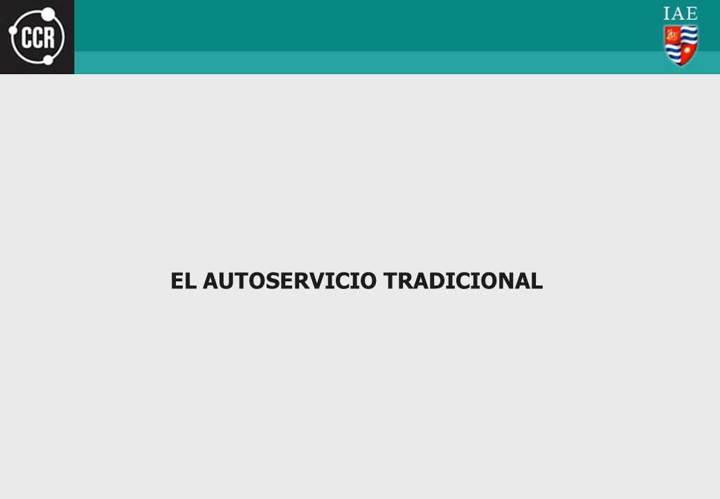 EL AUTOSERVICIO TRADICIONAL