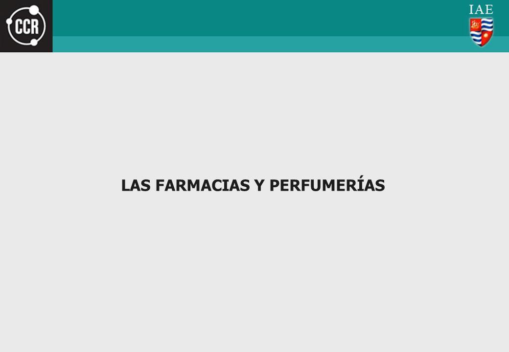 LAS FARMACIAS Y PERFUMERÍAS