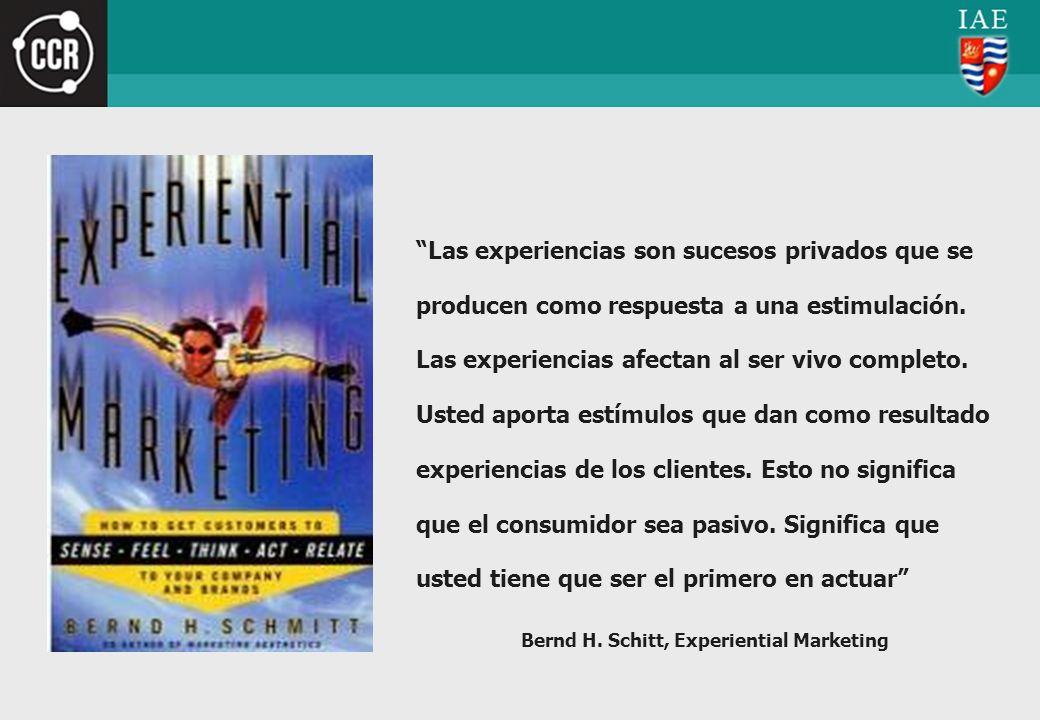 Bernd H. Schitt, Experiential Marketing