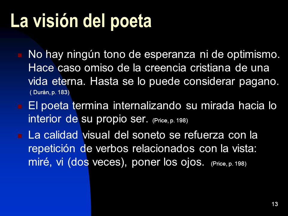 La visión del poeta