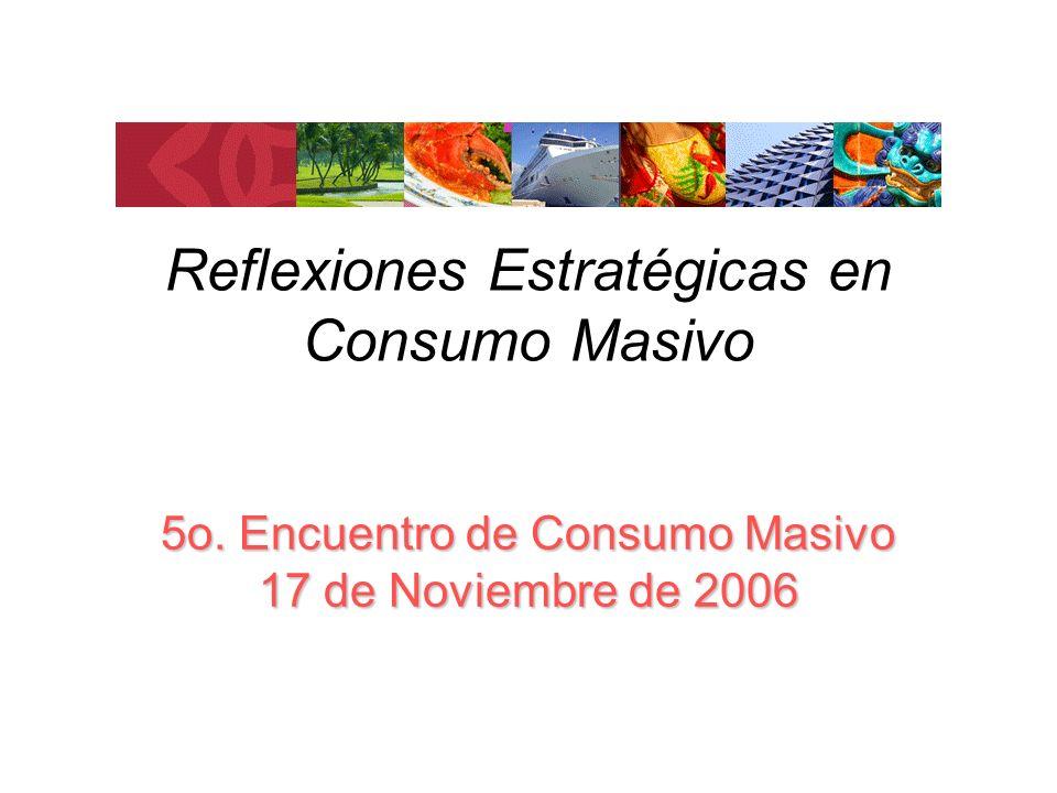 Reflexiones Estratégicas en Consumo Masivo