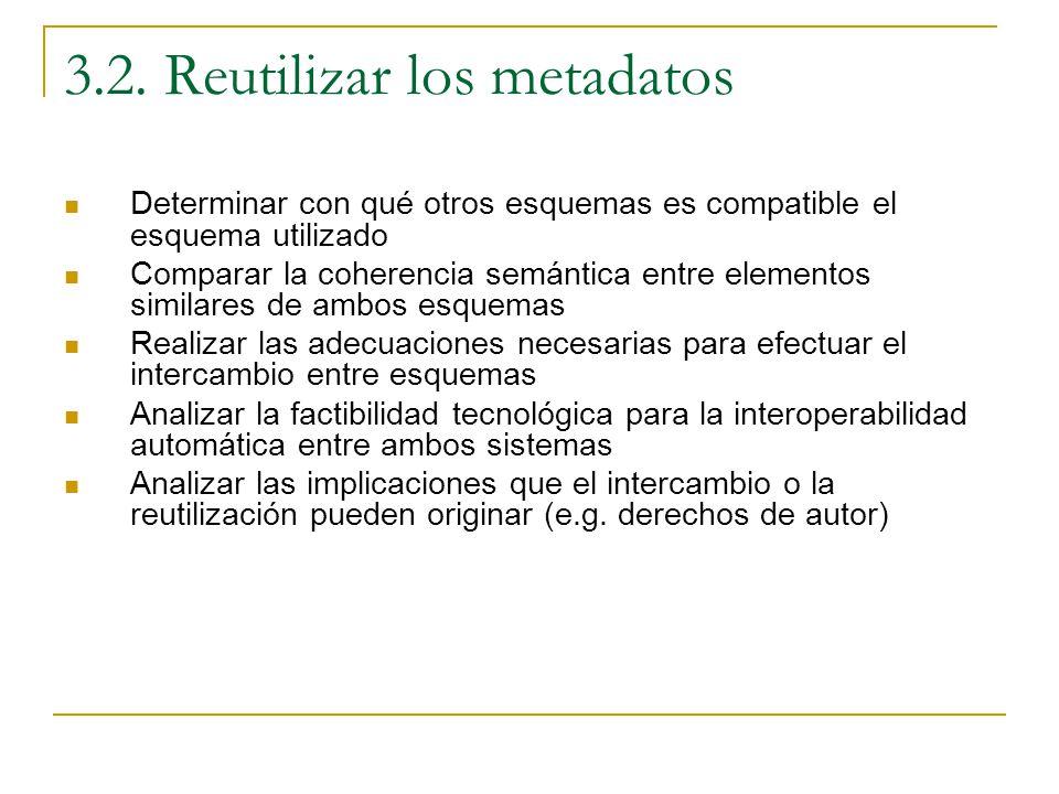 3.2. Reutilizar los metadatos