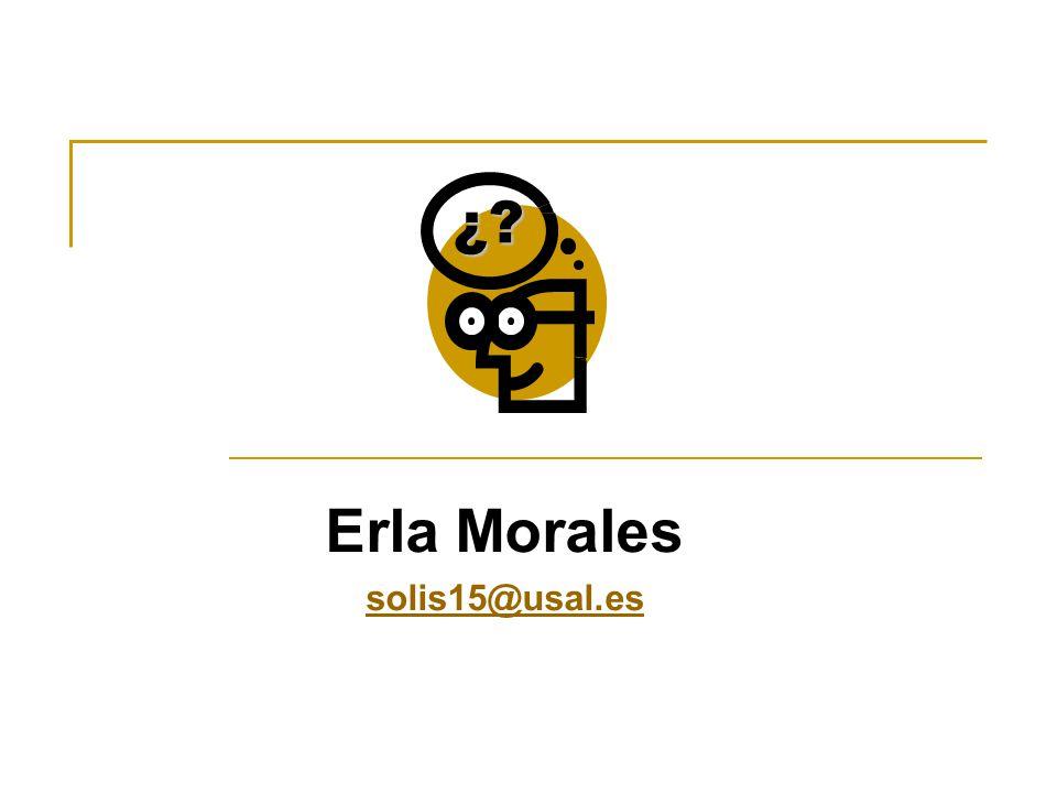 Erla Morales solis15@usal.es