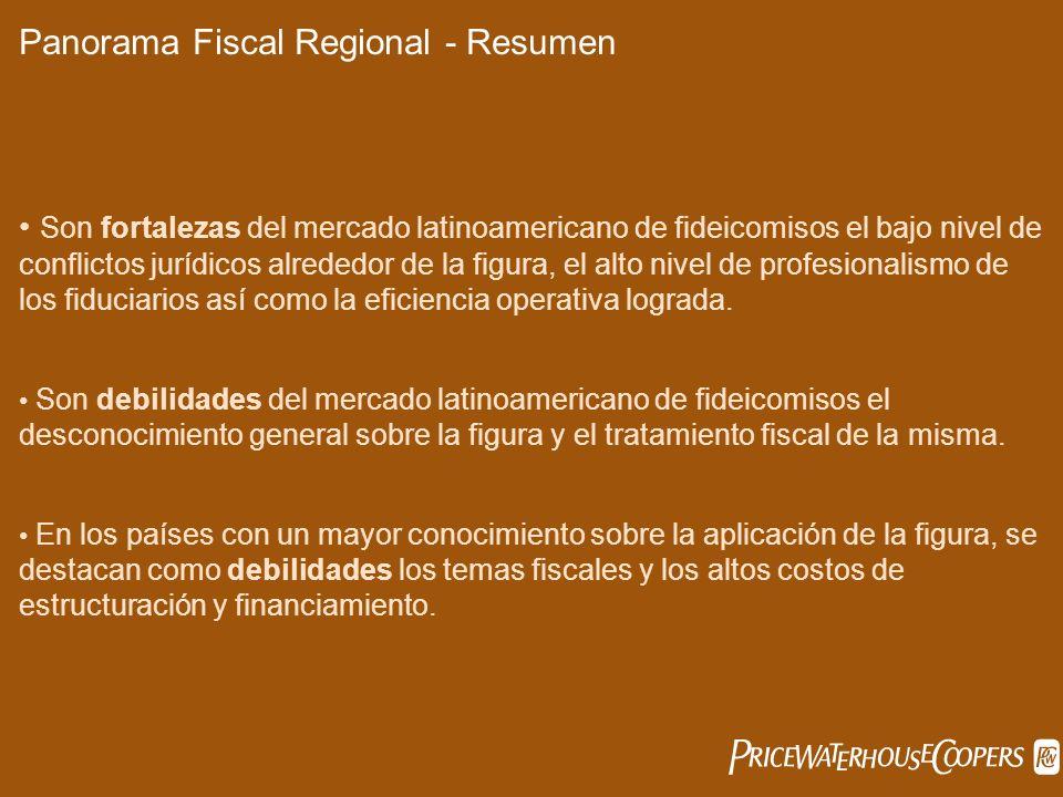 Panorama Fiscal Regional - Resumen