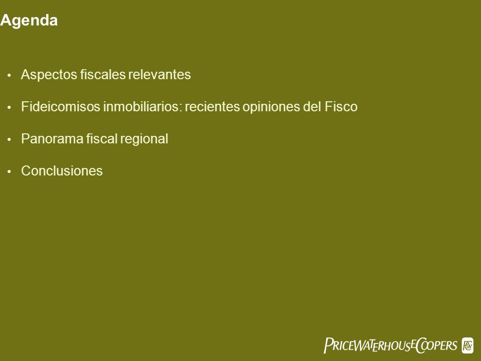 PwC Agenda Aspectos fiscales relevantes