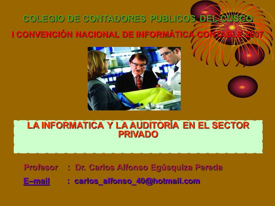 COLEGIO DE CONTADORES PUBLICOS DEL CUSCO