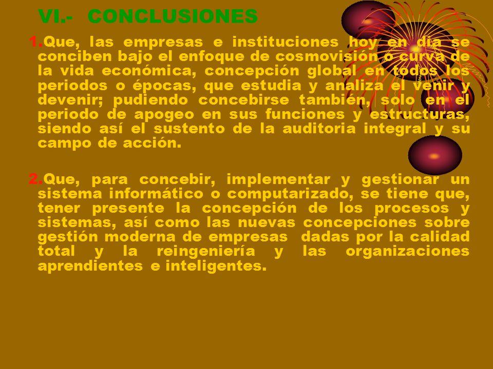 VI.- CONCLUSIONES