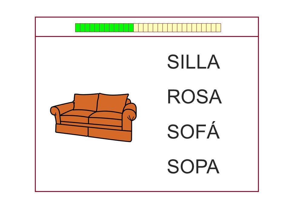 SILLA ROSA SOFÁ SOPA