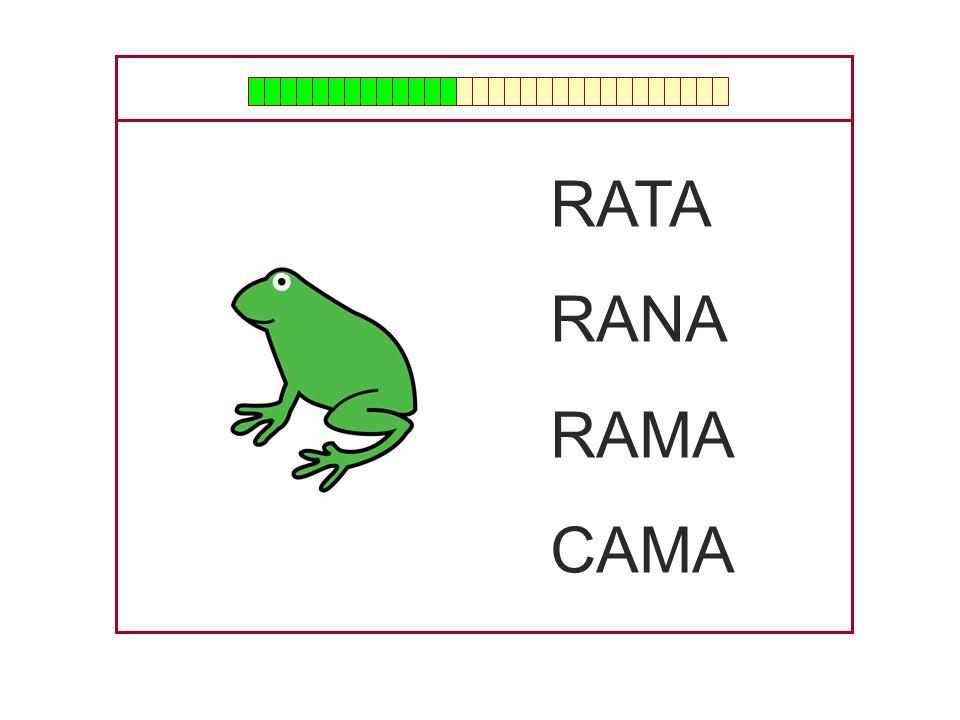RATA RANA RAMA CAMA