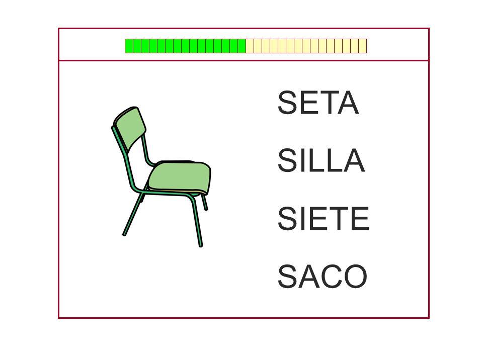 SETA SILLA SIETE SACO