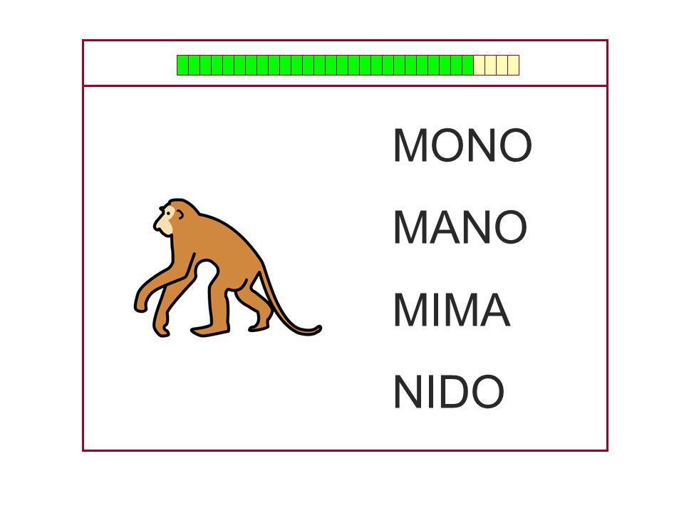 MONO MANO MIMA NIDO