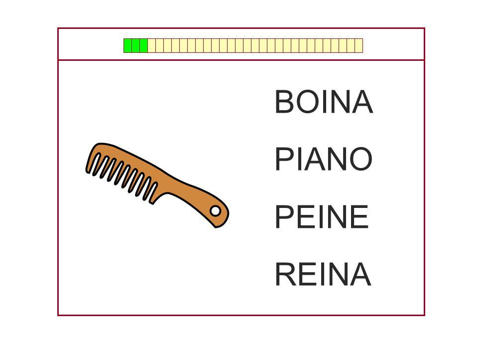 BOINA PIANO PEINE REINA