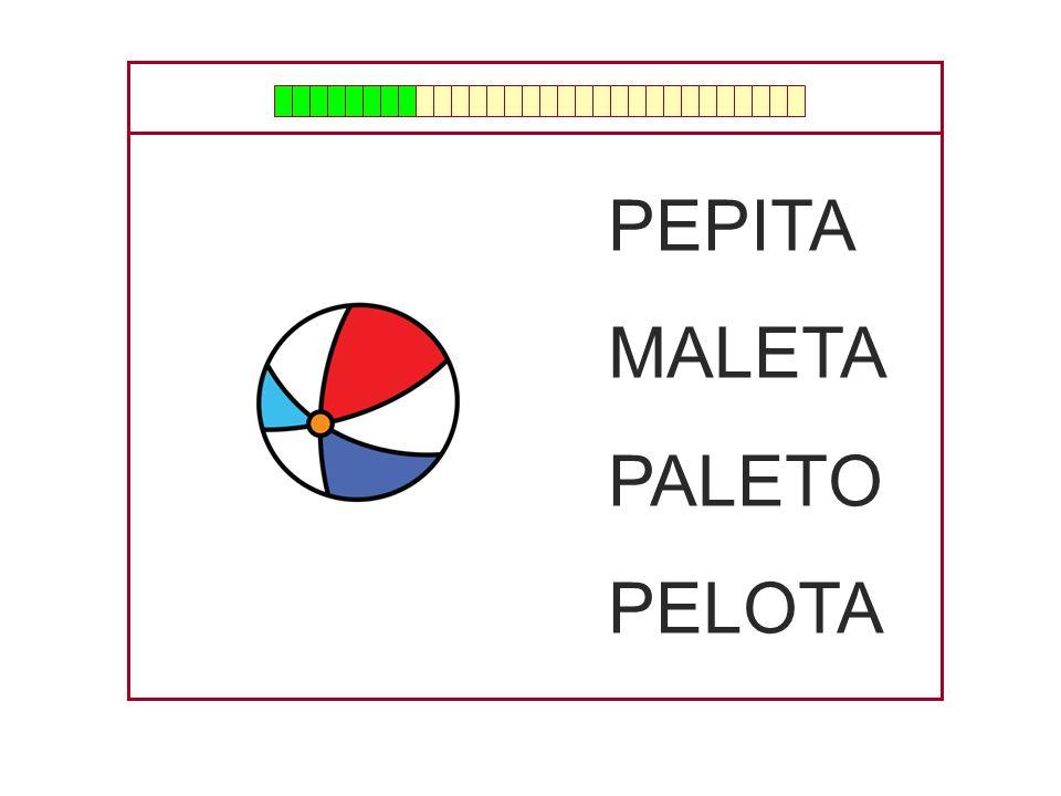 PEPITA MALETA PALETO PELOTA