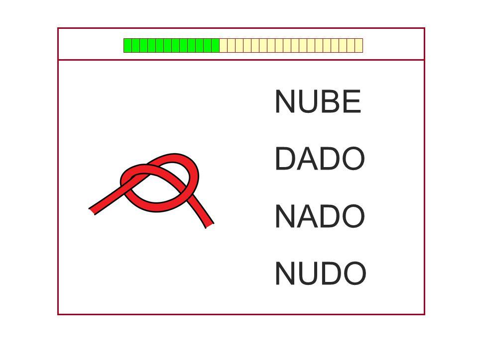 NUBE DADO NADO NUDO