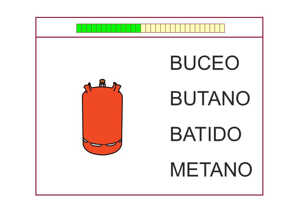 BUCEO BUTANO BATIDO METANO