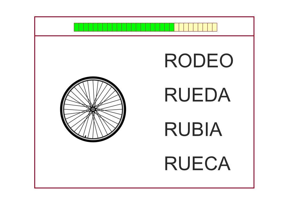 RODEO RUEDA RUBIA RUECA