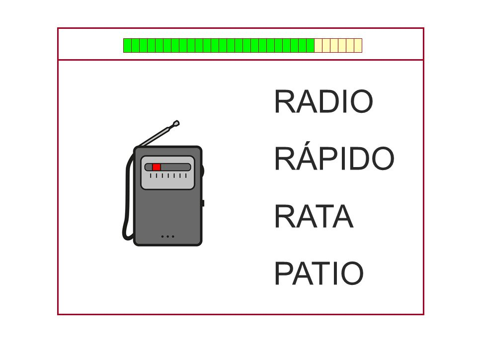 RADIO RÁPIDO RATA PATIO