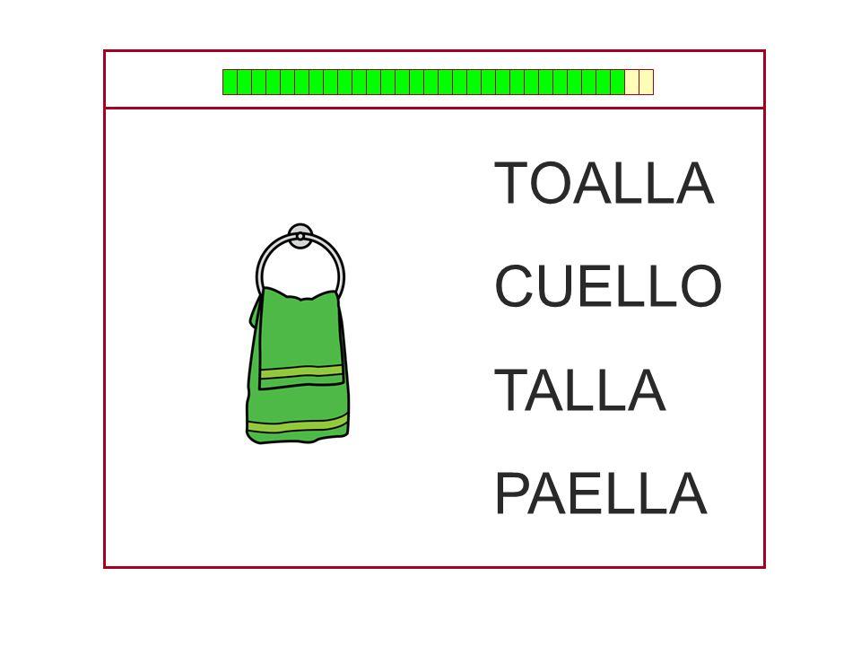 TOALLA CUELLO TALLA PAELLA
