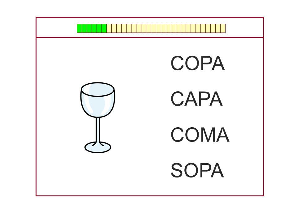 COPA CAPA COMA SOPA