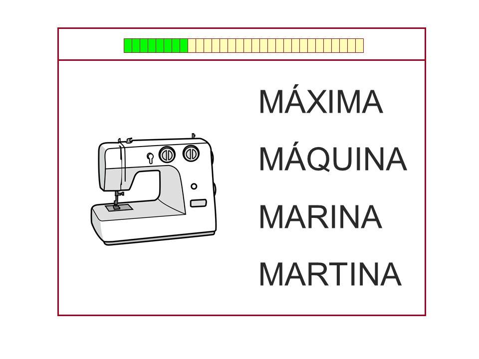 MÁXIMA MÁQUINA MARINA MARTINA