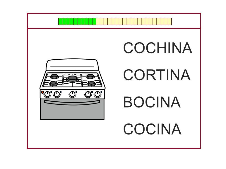 COCHINA CORTINA BOCINA COCINA