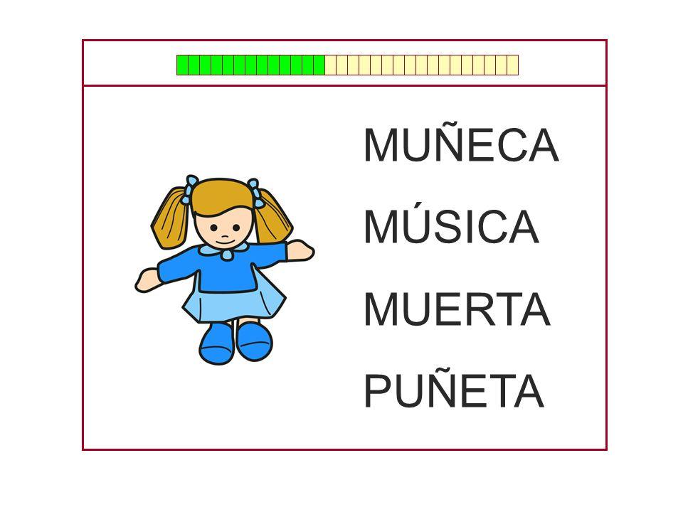 MUÑECA MÚSICA MUERTA PUÑETA