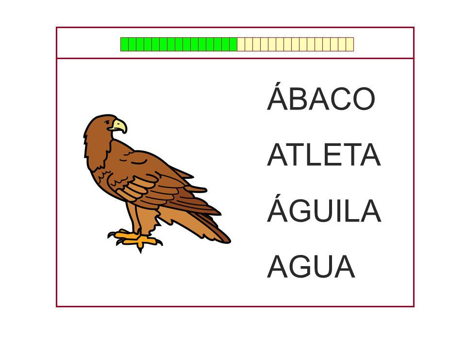ÁBACO ATLETA ÁGUILA AGUA