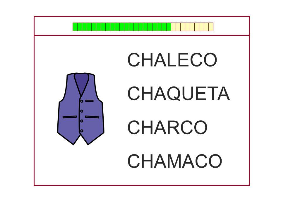 CHALECO CHAQUETA CHARCO CHAMACO