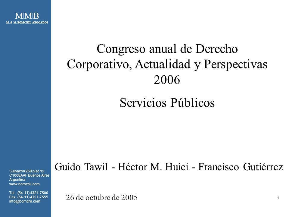 Congreso anual de Derecho Corporativo, Actualidad y Perspectivas 2006