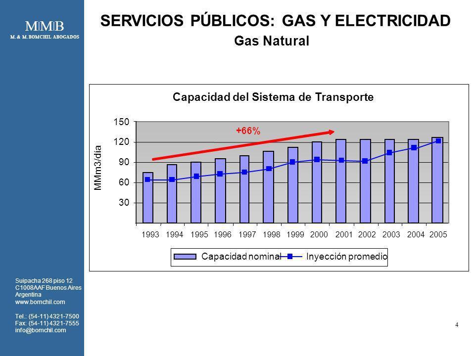 SERVICIOS PÚBLICOS: GAS Y ELECTRICIDAD