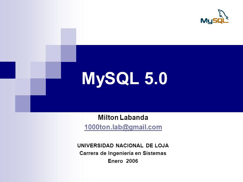 UNIVERSIDAD NACIONAL DE LOJA Carrera de Ingeniería en Sistemas