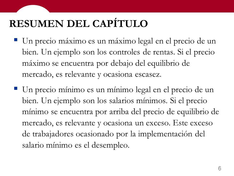 RESUMEN DEL CAPÍTULO