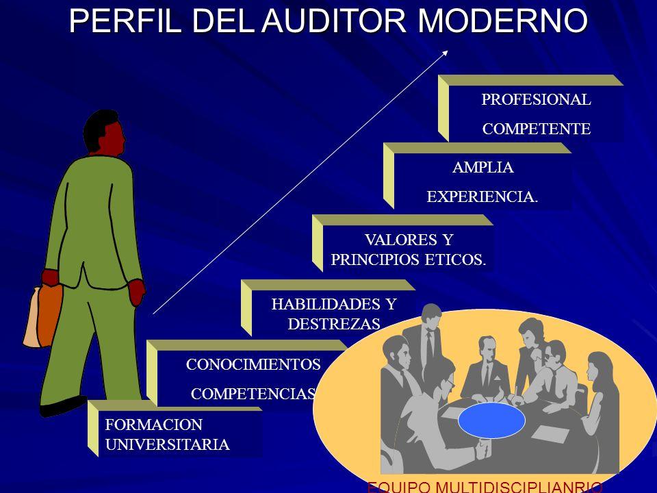 PERFIL DEL AUDITOR MODERNO