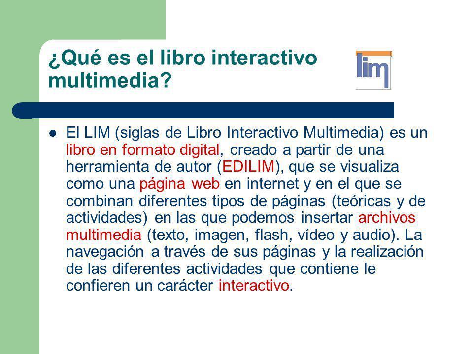 ¿Qué es el libro interactivo multimedia