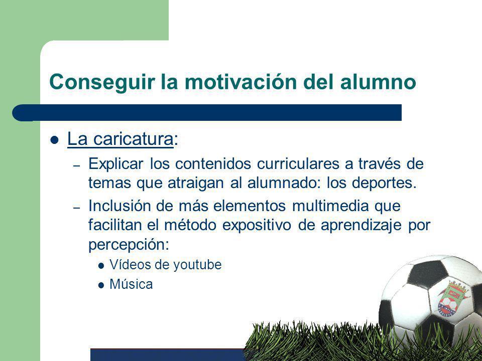 Conseguir la motivación del alumno