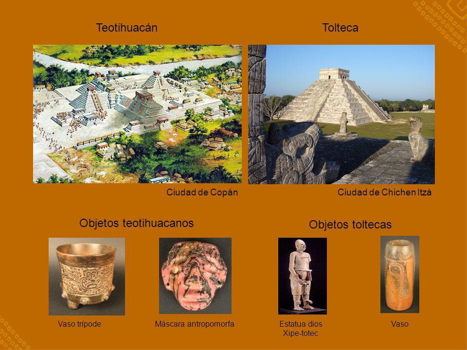 Objetos teotihuacanos