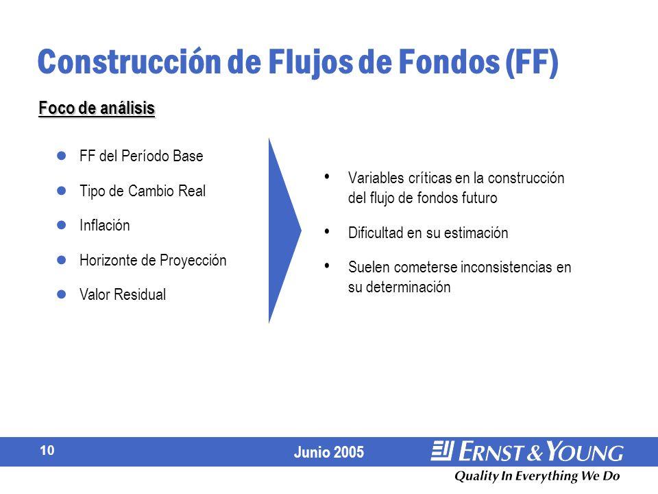 Construcción de Flujos de Fondos (FF)