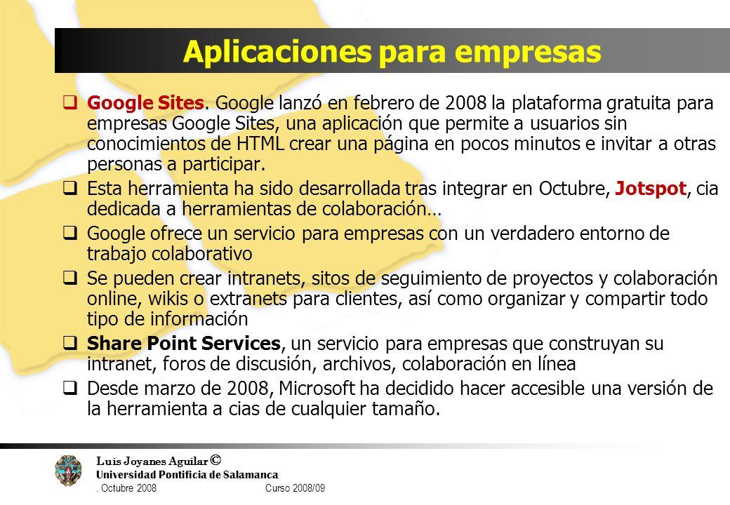 Aplicaciones para empresas